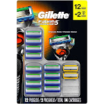 Gillette Fusion5 ProGlide Cartridges, 12 ProGlide 2 ProShield (14 ct.)