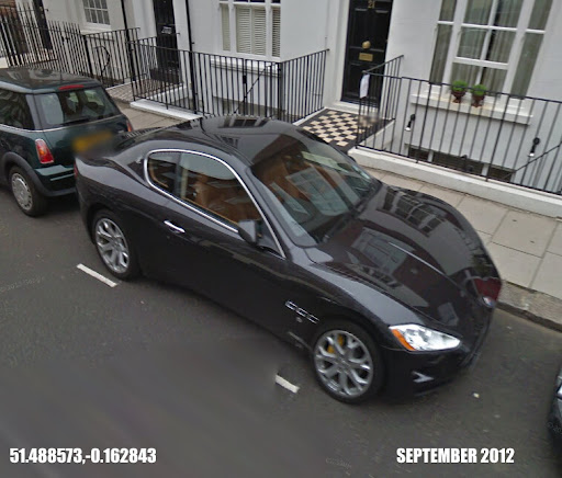 Classic And Exotic Cars On Google Maps Street View V