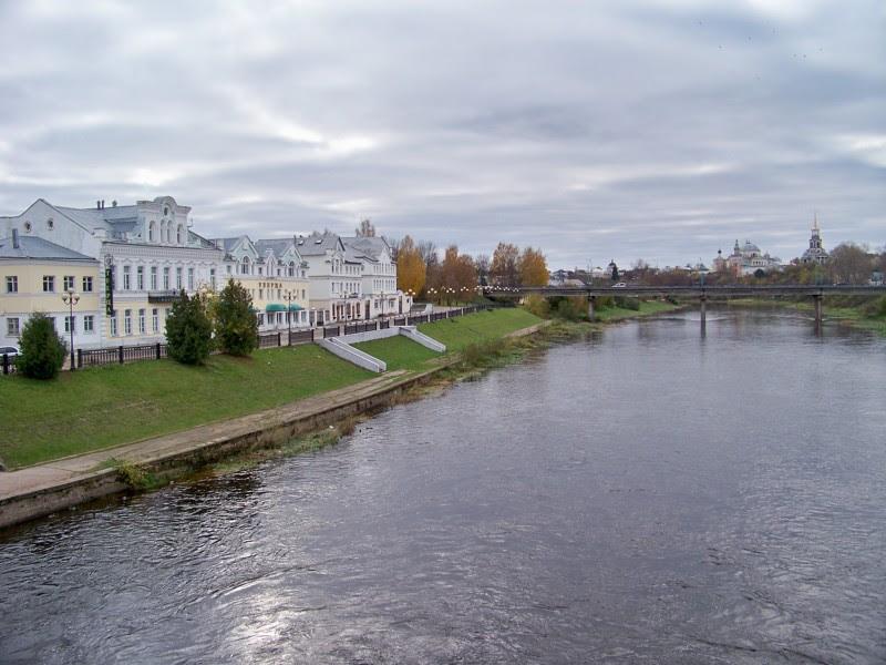в Торжке можно снимать фильмы с исторической натурой без декораций Города России, Тверская область, красивые места, пейзажи, путешествия, россия, торжок