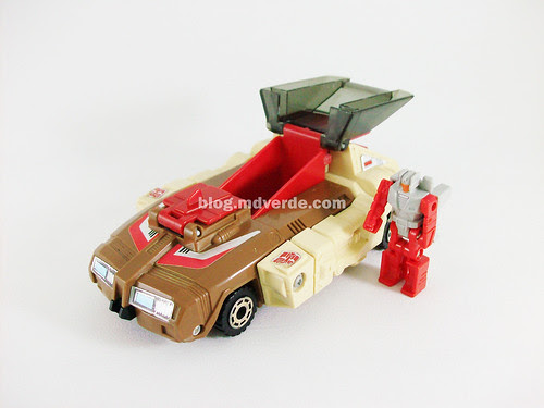 Transformers Chromedome G1 con Stylor - modo alterno