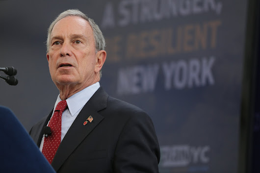 Bloomberg Outlines $20 Billion Storm Protection Plan