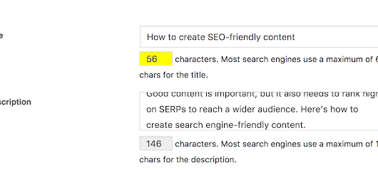 How to create SEO-friendly content
