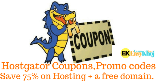 Hostgator Coupons India 2018- Get 75% OFF on Renewal Promo Code ✅
