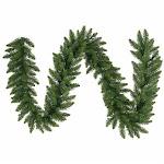 Vickerman A861123 9 ft. x 20 in. Christmas Tree Camdon Fir Garland 320 Tips
