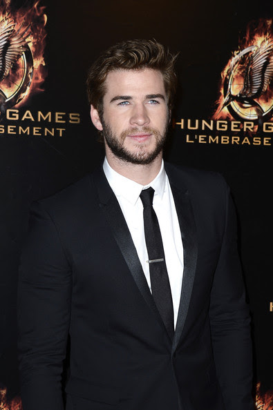 Liam Hemsworth - «The Hunger Games: Catching Fire» en première à Paris