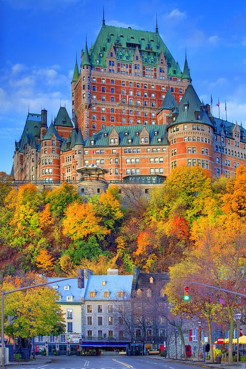 hellotailor:  lovely-bazaar:  Québec  Was Quebec designed by Hayao Miyazaki?