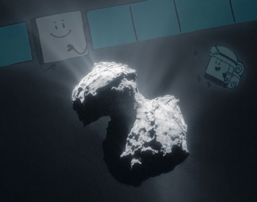 "With One More Comet Landing Rosetta's ""Rock and Roll"" Mission is Ended"