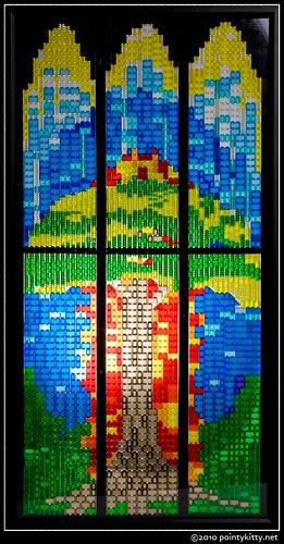 translucent glass windows