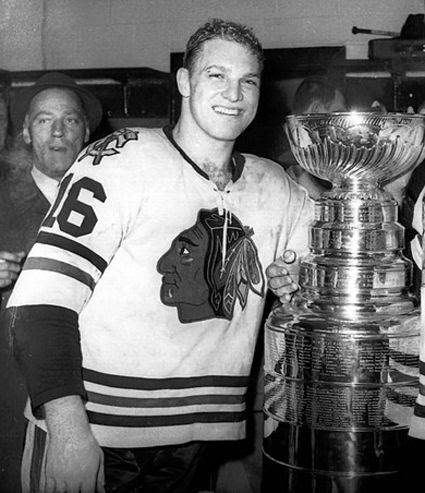 Bobby Hull 1961 Stanley Cup