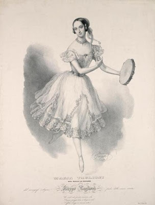 Maria Taglioni - Dance Print
