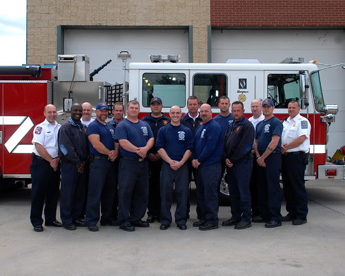 Fort Meade named Army Top Small Fire Department by Fort Meade