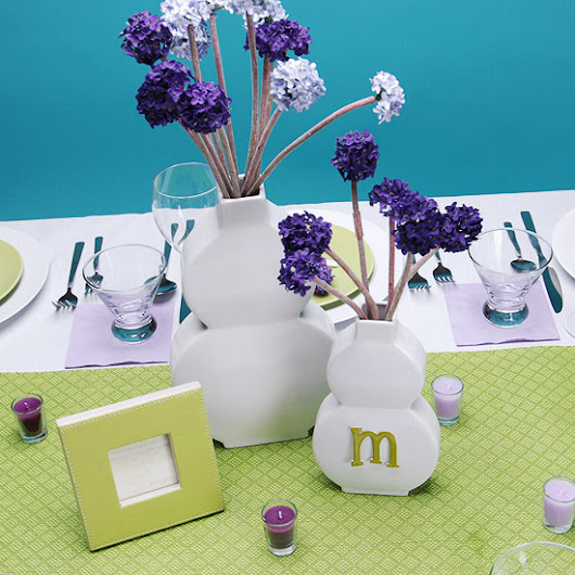Pretty Mother's Day Brunch Decor in Spring Colors