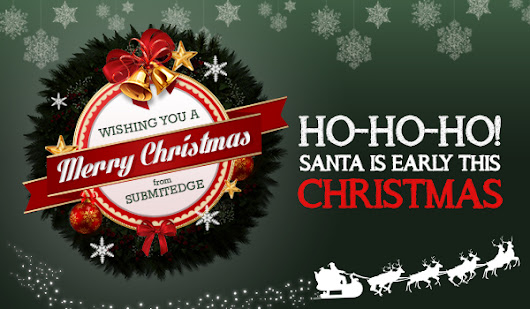 Christmas Blast with Submitedge's DOB offer!