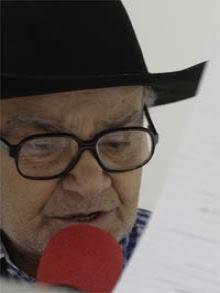 Radialista usava chapéu, de dia e também à noite