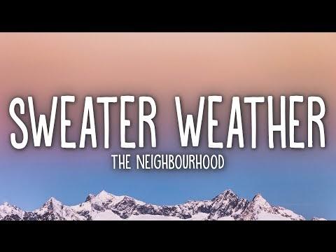 Sweater Weather song lyrics In English