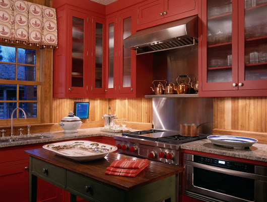 Hunting Lodge - Oxford, Maryland - Rustic - Kitchen - DC Metro - by Johnson Berman