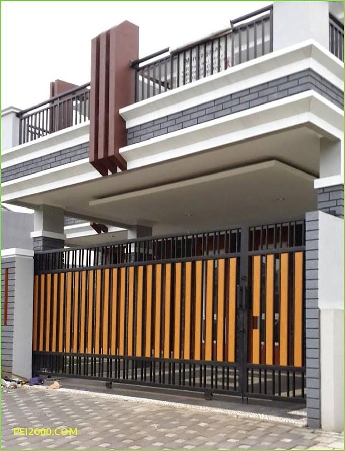 Pagar Tembok Rumah Minimalis Modern | Ide Rumah Minimalis