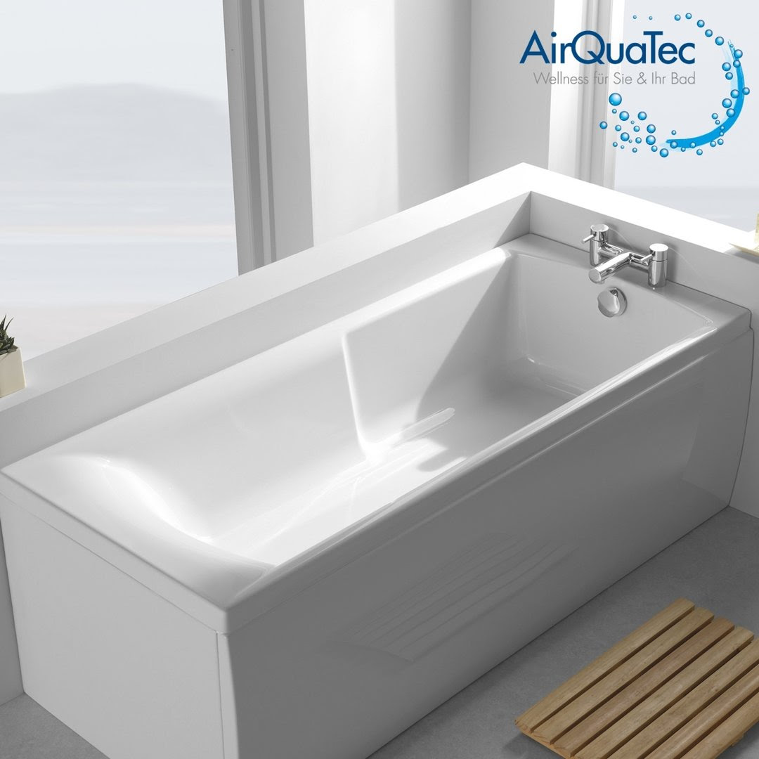 Low edge ridge profile bathtub 170 x 70 cm square, low entry!