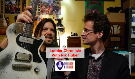 Luthier Chronicle by Nik Huber: for or against the CNC machine? - The Guitar Channel
