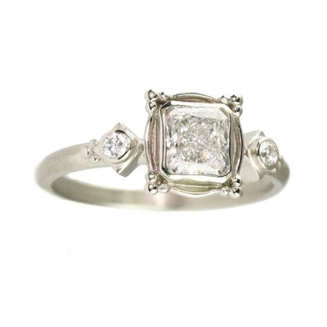 63 best images about    princess cut engagement rings