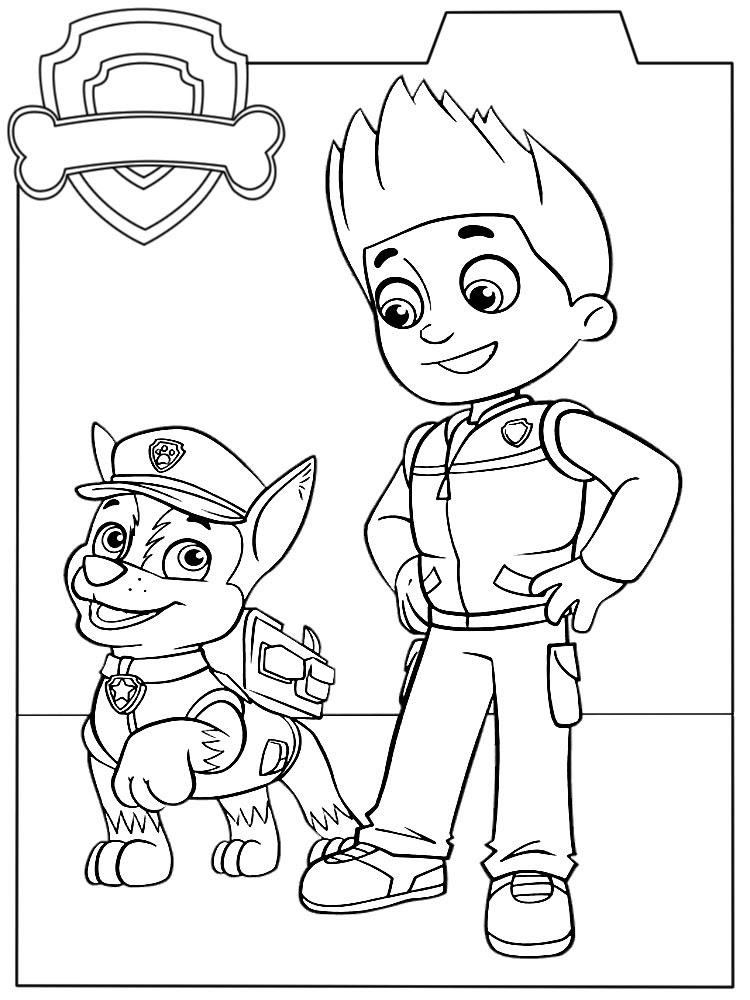 Imprimir Imágenes Dibujos Para Colorear Paw Patrol Para Niños Y Niñas