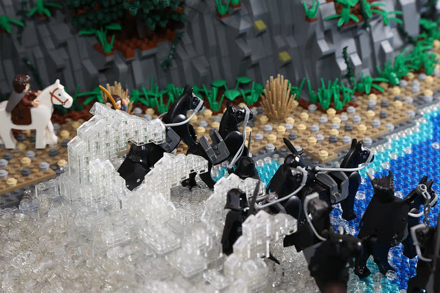 Wave of horses