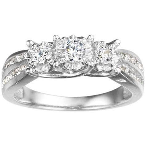 White Gold Wedding Rings for Women Diamonds