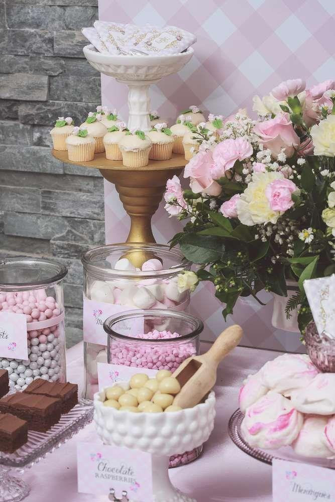 Bridal Shower Pretty Pink Girly Birthday Party Ideas 2167794