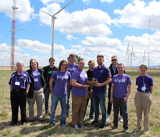 Kansas State University team breezes to high finish in wind turbine competition | Kansas State University | News and Communications Services