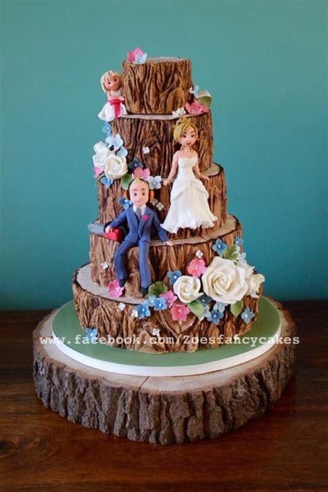 Tree wedding cake :)   cake by Zoe's Fancy Cakes   CakesDecor