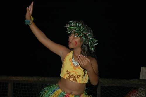 Pago traditional feast dancer