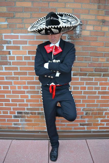 ryan janek wolowski wearing a traditional mens mexican