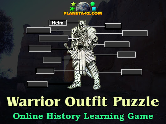 Knight's Armour Words Puzzle | History Learning Game