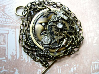 Steampunk Goddess Necklace! 5