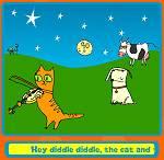Preschool Games - Nursery Rhyme Collage Maker