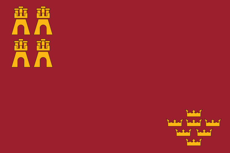 File:Flag of the Region of Murcia.svg