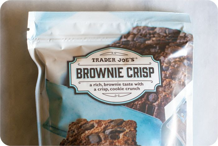 trader joe's brownie crisp review : part of a weekly review series of tj's desserts and treats