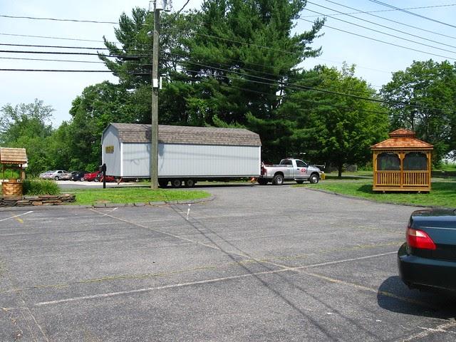 Amish Built Garages Missouri : Dm outdoor sheds ct