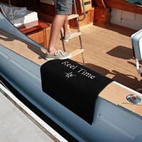 Premium Dri Dek Logo Alfombras para barcos