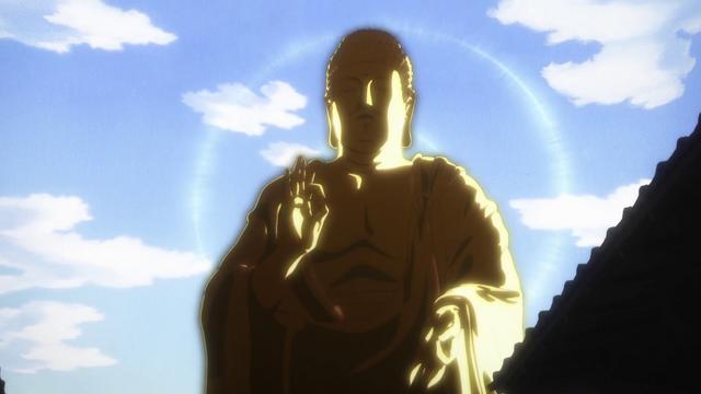 Golden Buddha Anime