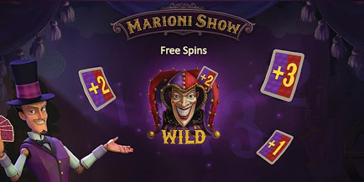 The Playson Marioni Show Slot Machine is already available - Bet Online | Online Betting | Online Casino | Sports betting