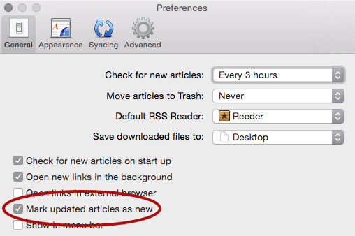 Previewing Local/Dev RSS Feeds on Mac OSX