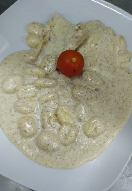 This is a quick and easy keto gnocchi recipe with mushroom sauce. This Fathead Keto Gnocchi gives you...