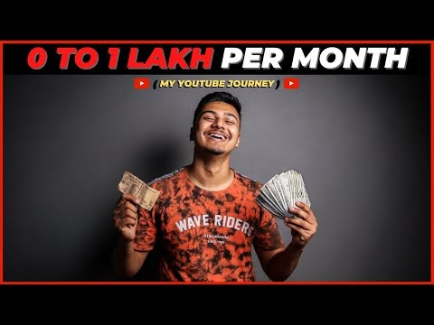 How I Make 1 Lakh Per Month With YouTube (2020) | Make Money on YouTube (HINDI)