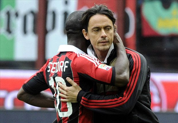 AC Milan sack Seedorf and appoint Inzaghi