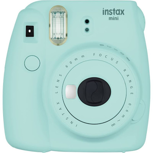 Fujifilm Instax Instant Camera, Mini 9, Ice Blue