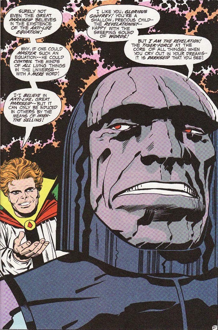 Image result for darkseid i am, the revelation