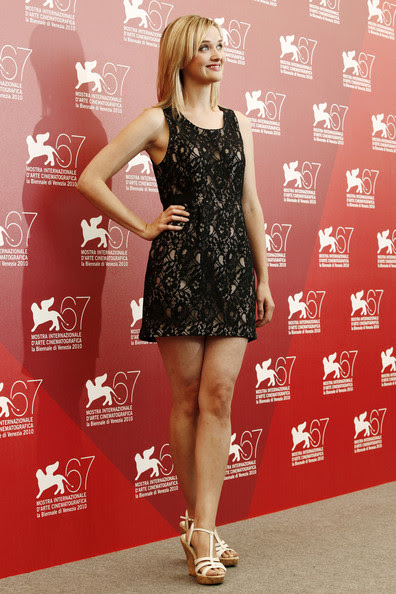 "Jess Weixler - Willem Dafoe at the ""A Woman"" Photocall at the 2010 Venice Film Festival"