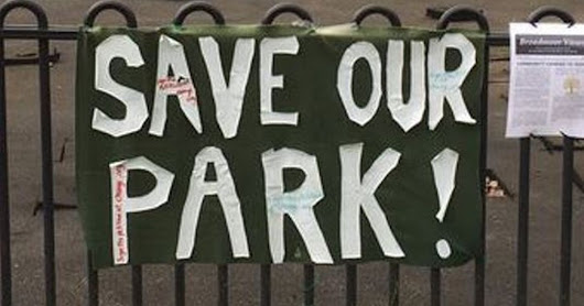 Community 'devastated' at loss of children's playground seek to adopt park
