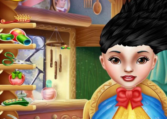 Jeux De Raiponce Coiffure Colorier Les Enfants